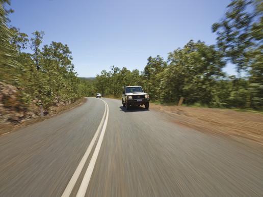 driving distances kakadu