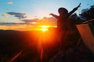 Sunset Gunlom Territory Expeditions